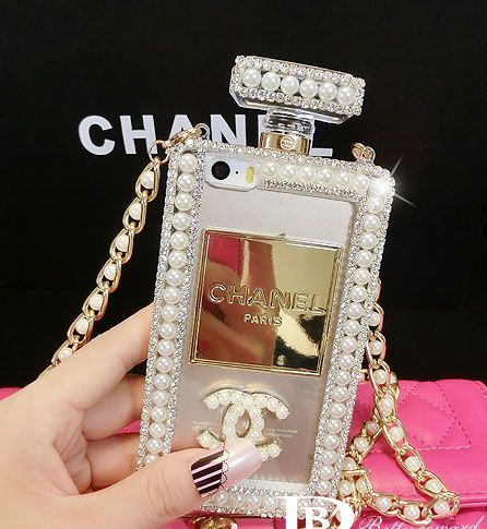 CLASSIC LUXURY BLING CRYSTAL CHANEL PERFUME BOTTLE CASE FOR IPHONE 6/PLUS IPHONE5/5S SAMSUNG NOTE4/NOTE3/S5/S4/S3 -