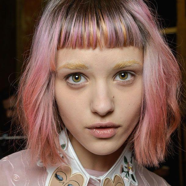 Haare blond farben mit 13