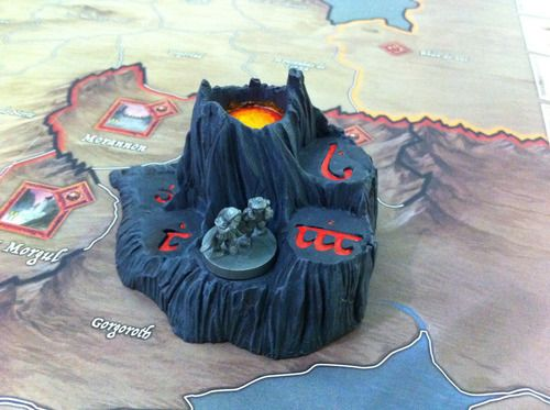 Mount Doom Mordor Track | War of the Ring Collector's Edition | BoardGameGeek