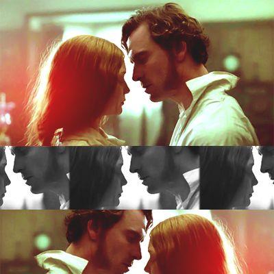Jane Eyre (2011) - movie starring Mia Wasikowska as Jane Eyre & Michael Fassbender as Mr. Edward Rochester