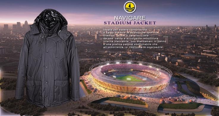 Il regalo perfetto per gli amanti del calcio: la Navigare Stadium Jacket!