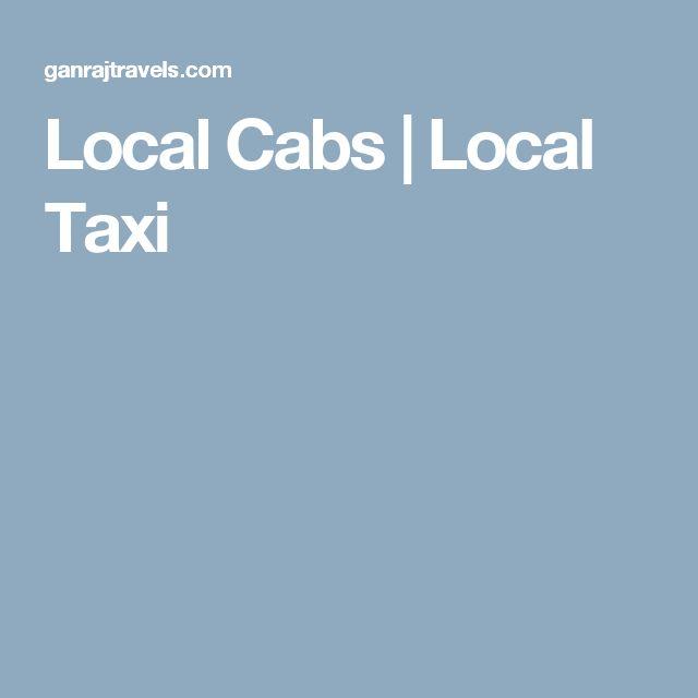 Local Cabs | Local Taxi