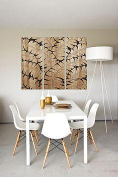 Ideas para decorar comedores estilo minimalista - http://ini.es/1jlz2MJ