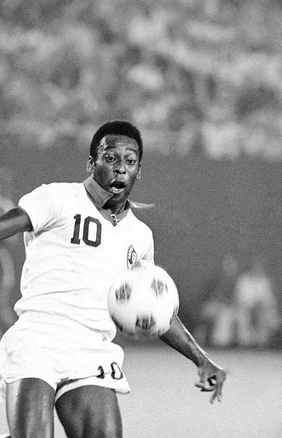 The Brazillian Edson Arantes do Nascimento, aka Pele, the greatest player to ever step onto the field!