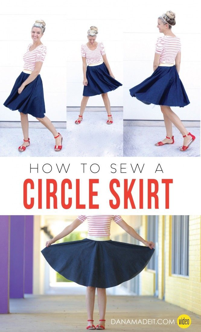 how to make skirt step by step