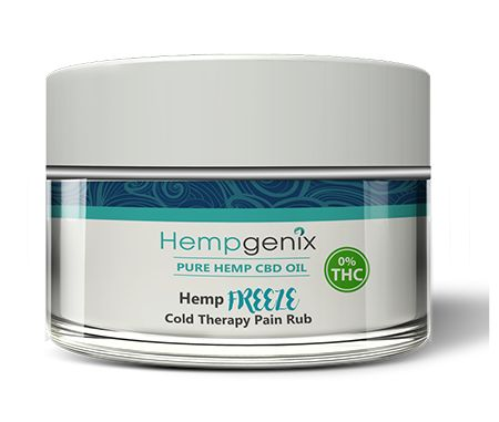 Hempgenix CBD Freeze Pain Rub Cream is simply the industry leader in products for topical pain rubs. https://cbdfreeze.com