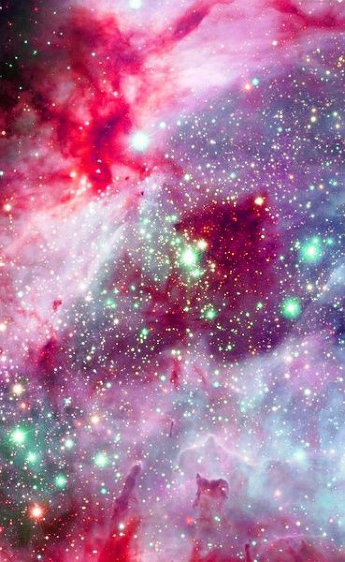 Red Colored Nebula Series