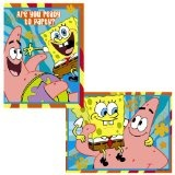 SpongeBob Invitations 8ct (Toy)  #Spongebob