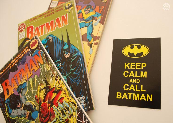 Keep calm and call Batman! Venta por menor y mayor. f/hurratallercreativo // holahurra@gmail.com