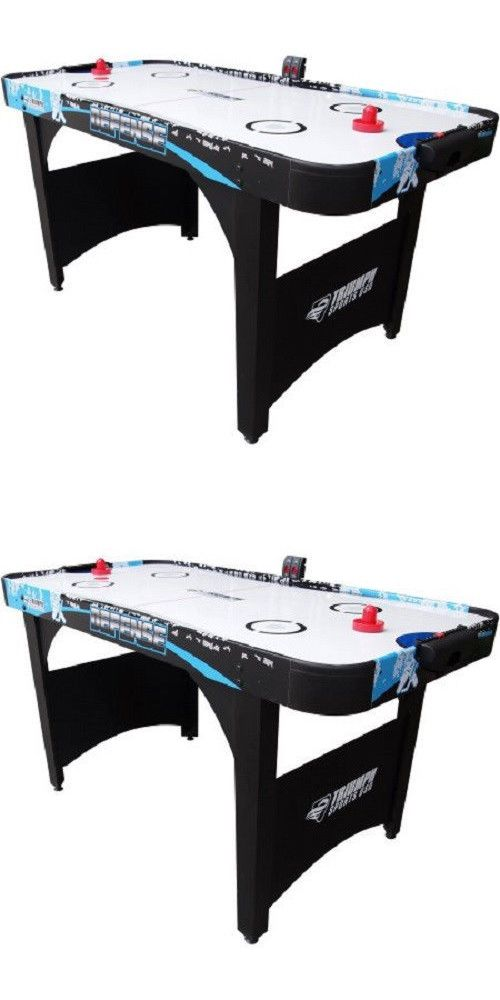 Air Hockey 36275: Air Hockey Game With Es, 60 Brand New! W/Dual Blowers And Electronic Scoreboard BUY IT NOW ONLY: $144.99