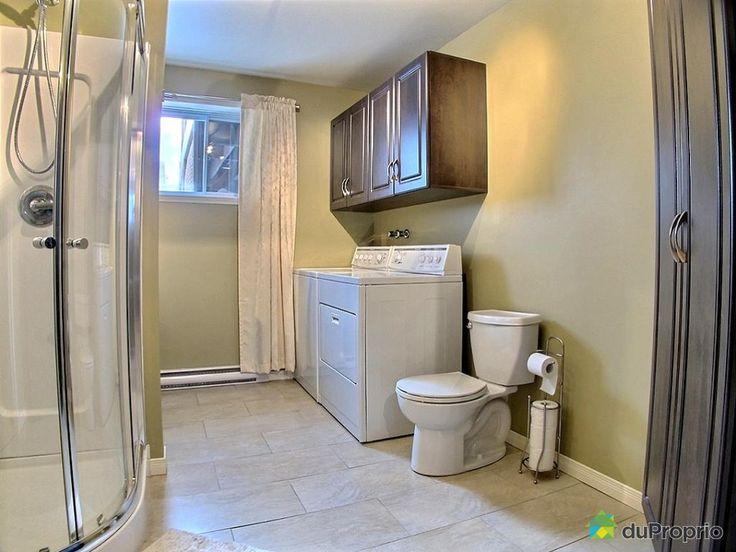 Salle de bain sous-sol de rêve à voir à Drummondville #DuProprio