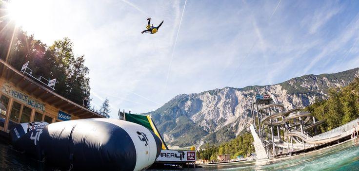 Area 47, Tyrol, Austria, blobbing