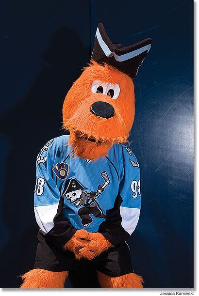 milwaukee admirals | Roscoe (and Rascal) ^.^ from the Milwaukee Admirals