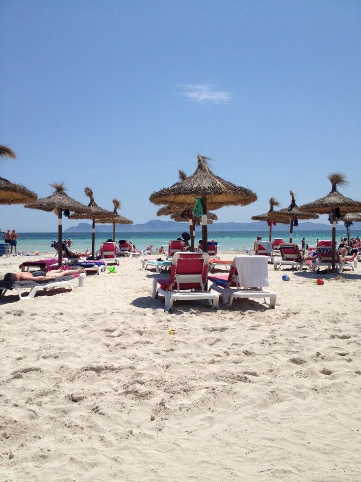 Alcudia Beach, June 2013