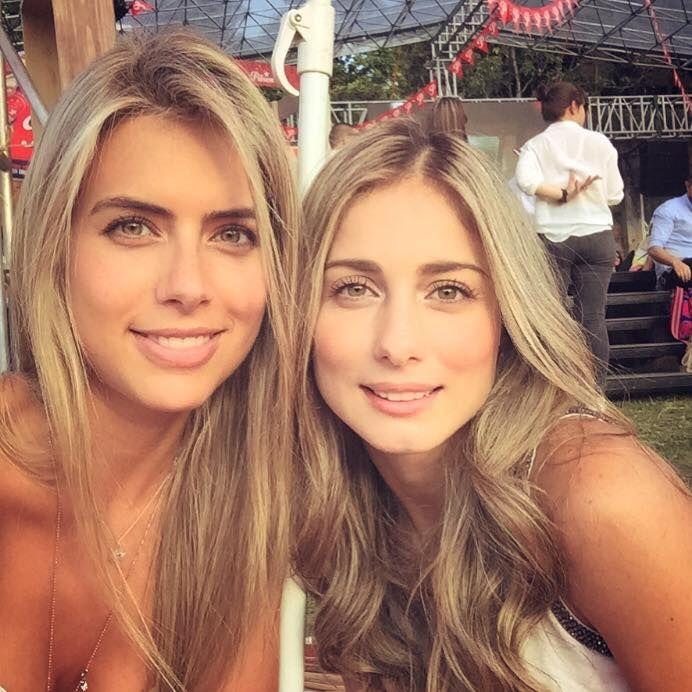 Ana Sofía Henao con su hermana, bellísimas • A tu lado las ...