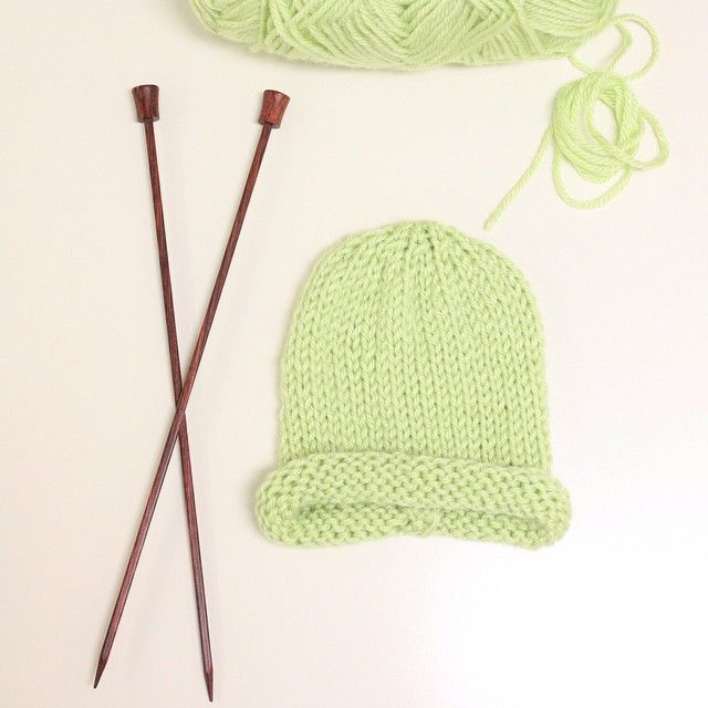 Student project! @craftedspaces #knitting #classes #beginnerknitting