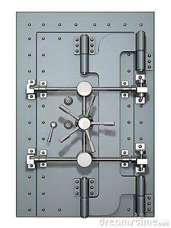Vault door - rectantular  sc 1 st  Pinterest & Best 25+ Vault doors ideas on Pinterest | Safe vault Safe door ... pezcame.com