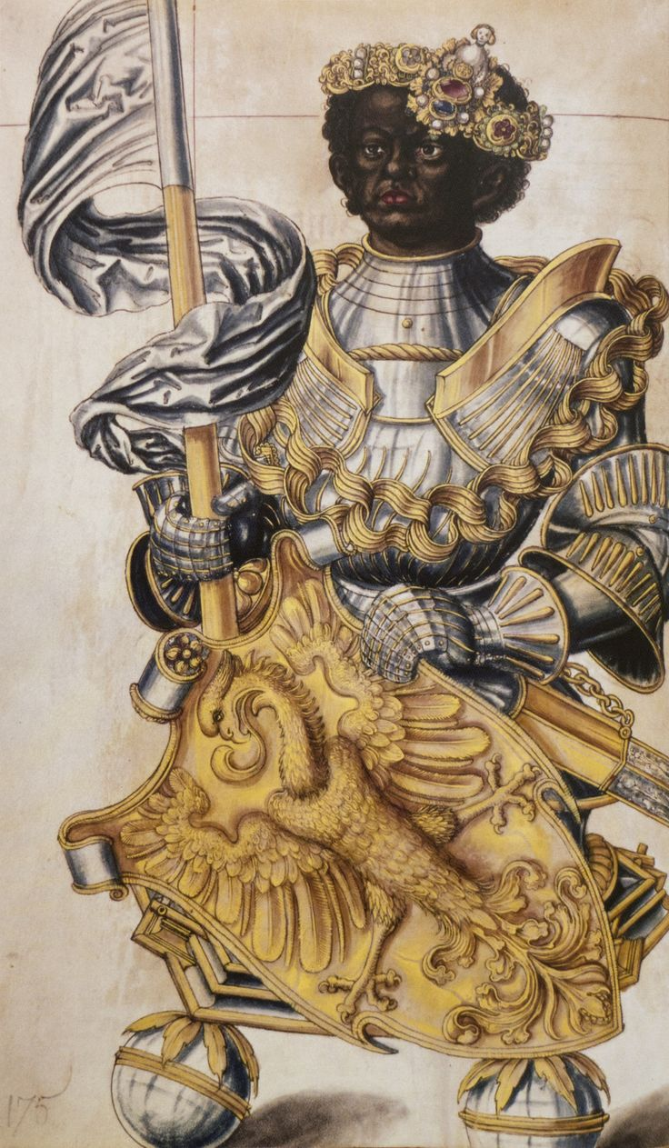 (c 15251527) Design For Reliquary Bust Of St Maurice