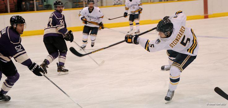 Christian Steingraber, 2012-13 Men's Hockey, Credit: Edwin Tam