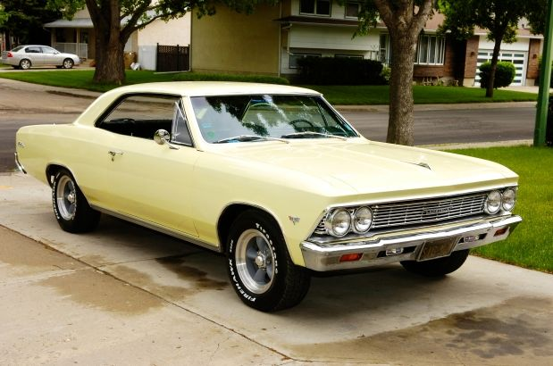 1966 Chevelle Malibu in butternut yellow | Cars: Bowtie ...
