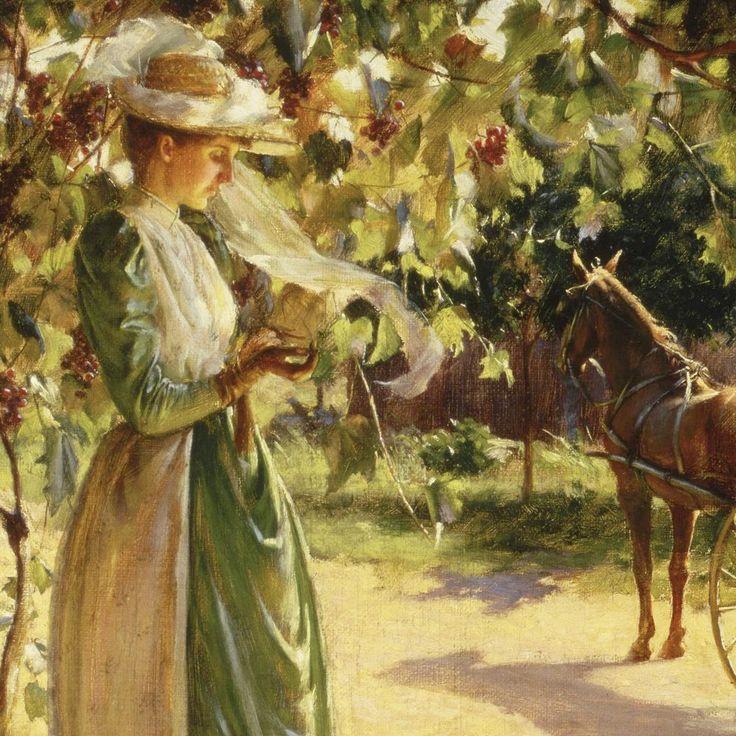 Mulher com um cavalo