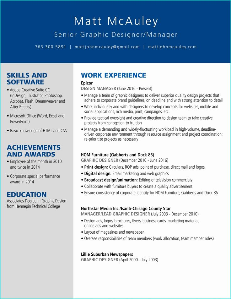 image result for creative resume designs