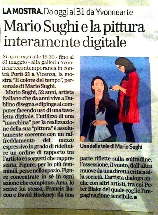 Il Corriere della Sera ed. Veneto 9 maggio 2013