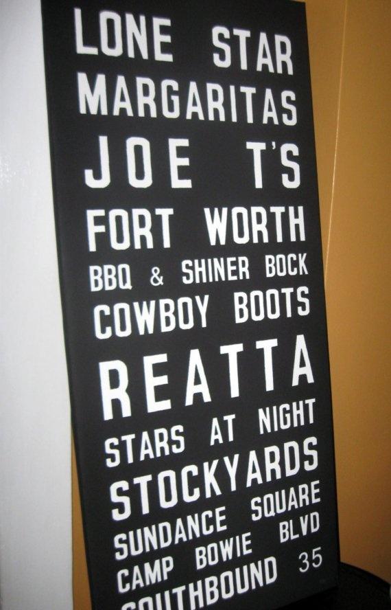 Fort Worth sign