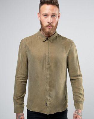 Religion - Chemise habillée en cupro