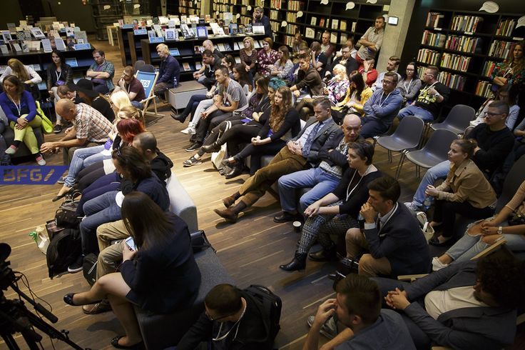 #BFGdansk 2015, European Solidarity Centre. Photo: Paweł Wyszomirski / #ecs #ecsgdansk #gdansk #ilovegdn #conference #blogs #bloggers #library