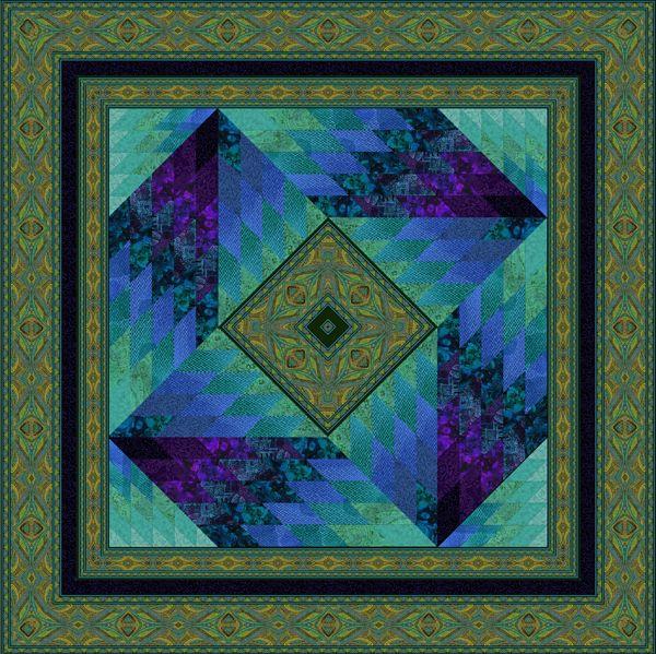 Jinny Beyer Lesson Fragmenting Designs Quilt Patterns