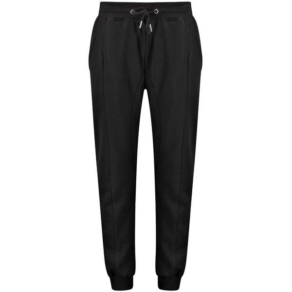 Skinny Panel Drop Crotch Jogger ($21) ❤ liked on Polyvore featuring pants, bottoms and jeans/pants/legging