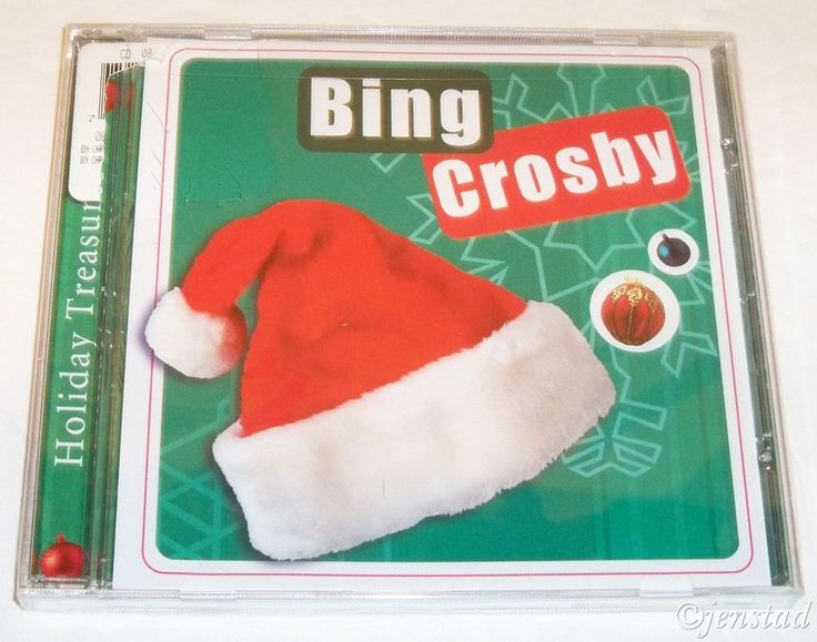 BING CROSBY HOLIDAY TREASURES 11 SONG CHRISTMAS CD XMAS COMPACT DISC MUSIC