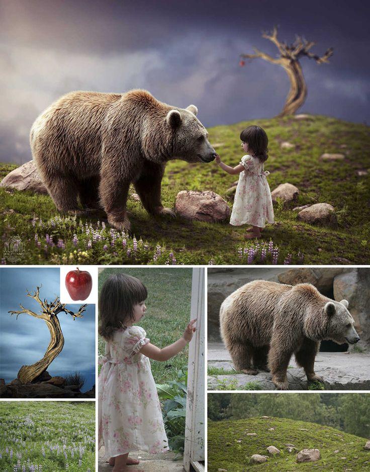 Après les talents Photoshop du jeune artiste russe Max Asabin, je vous propose de découvrir le travail de Viktoria Solidarnyh, une artiste ukrainienne qui no
