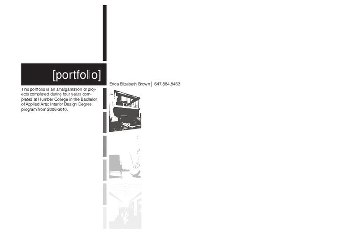 Portfolio. love the layout