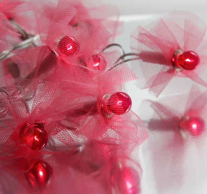 Rouge Living String Lighting Tutu Pink
