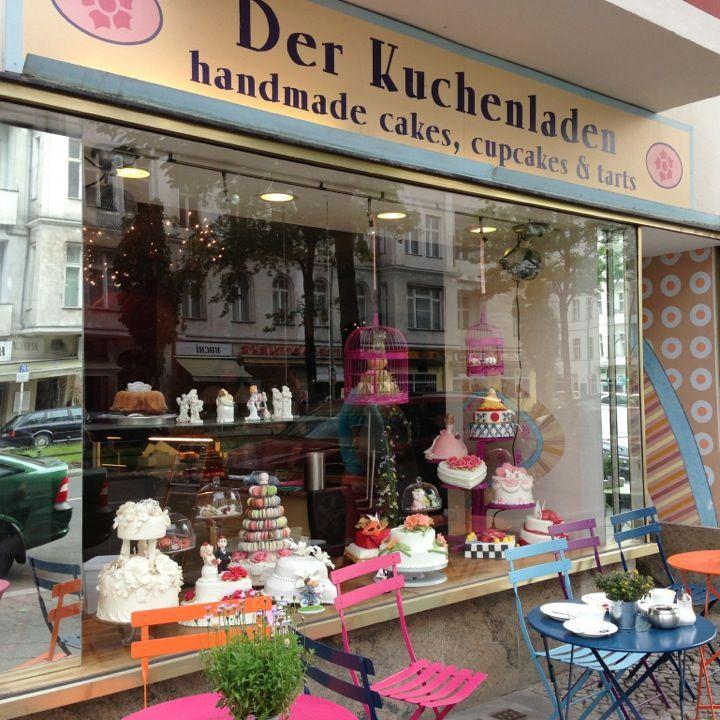 ღღ BERLIN-Charlottenburg am S-Bhf. Savignyplatz: Der Kuchenladen - für alle, die Süsses lieben :-)
