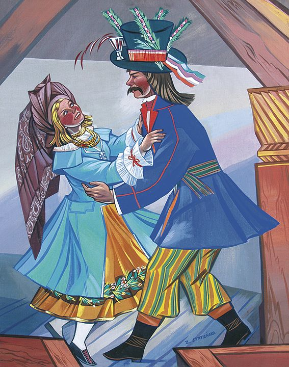 tańce - kujawiak