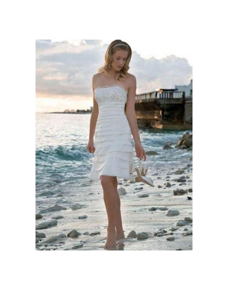 Robe de mari e volants en dentelle en mousseline de soie for Concepteurs de robe de mariage australien en ligne