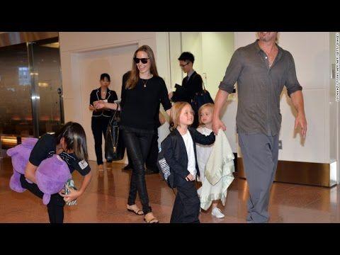 Angelina Jolie and Brad Pitt's custody tangle