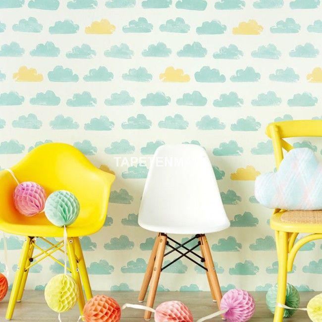 Die besten 25+ Tapete türkis Ideen auf Pinterest türkise - badezimmervorlagen kleine wolke