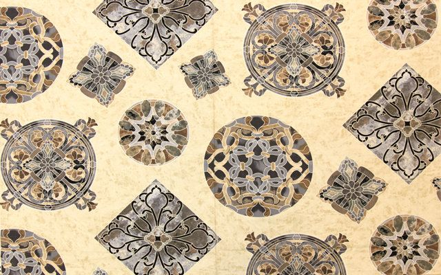 Timeless Treasures - Mosaic С8611 Beige