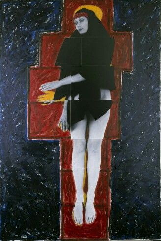 Julie Rrap Persona and shadow: Madonna 1984