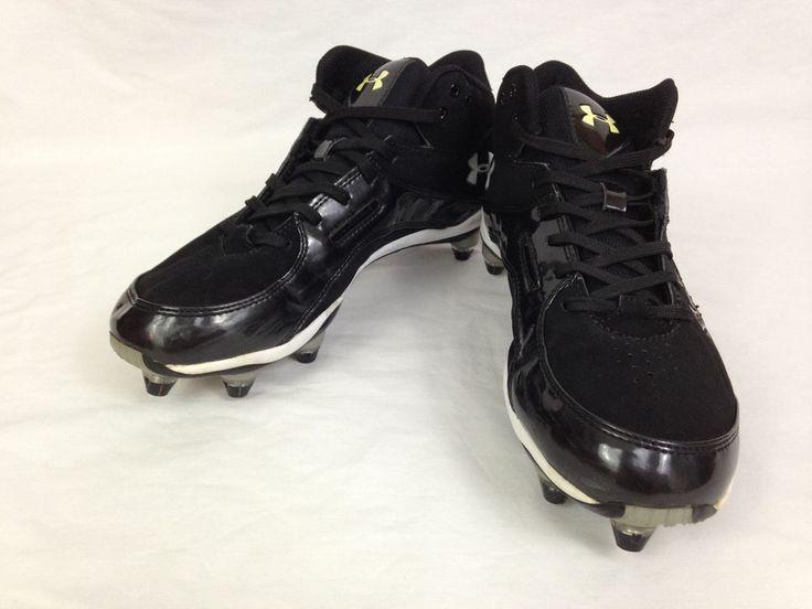 UNDER ARMOUR Mens Cleats 8.5 Size Pursuit II Football Black Shoes 1208557-001 #UnderArmour #Cleats #Football #Baseball #Ebay #EbaySeller #EbaySellers #EbayDeals #EbayStore #EbayLife #Thrift #Thrifting #ThriftingLife