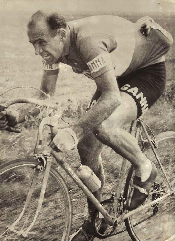 Giro delle Fiandre 1950, 2 aprile. Gand > Wetteren. Fiorenzo Magni (1920-2012)
