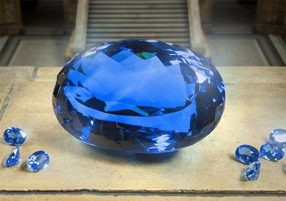 Topaze Ostro, la plus grosse Topaze bleue du monde - Blog Juwelo Bijouterie en Ligne