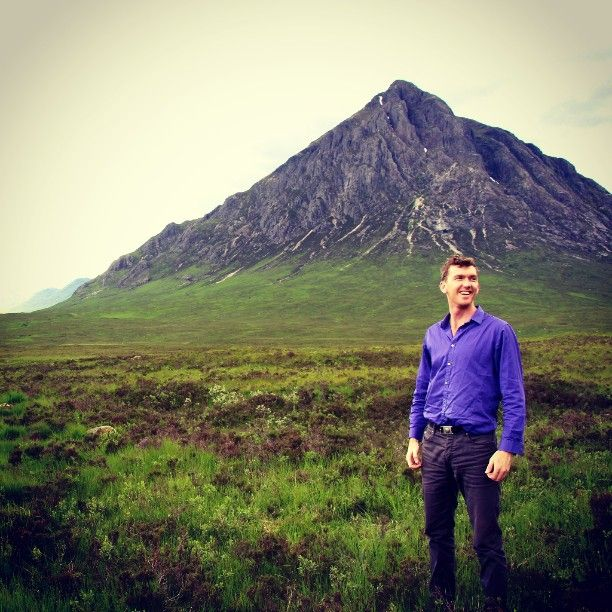 Magnificent Mountains at Glencoe, Scotland