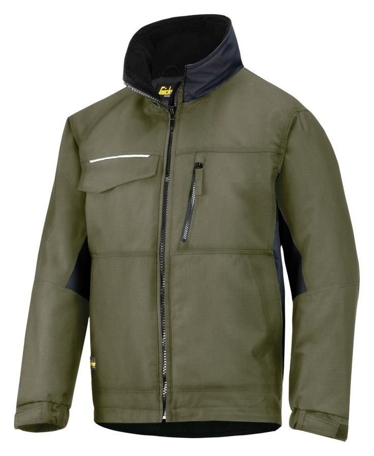 Water #repellent outside, cosy lined inside. This is the ideal #winter jacket for everyday warmth. Available in six different colors. - Snickers Workwear Artnr. 1128