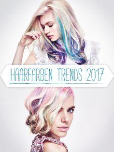 Ob Mermaid Hair, Lavender Hair oder Rainbow Hair - das Jahr 2017 wir BUNT! Lasst euch inspirieren, druckt eure Lieblingsbilder aus und ab zum Friseur mit euch!Noch mehr Frisuren-Inspirationen haben wir hier für euch: Trendfrisuren 2017