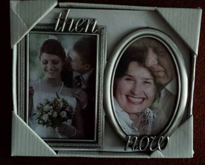 check out then and now photo frame new in box msrp 2499 4x6 - Ebay Picture Frames